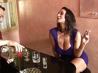 Jaw Pulling Down Seductress With Yummy Big Tits Persia Monir Gets...