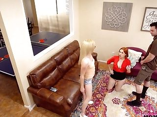 Blondie Gal Promoter Katie Kush Takes Part In Crazy Threesome Duo...