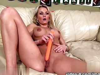 Amazing Superstar Laura Crystal In Fabulous Blonde, Cougar Porno Flick