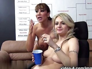 Amazing Pornographic Stars Natasha Starr, Ava Devine In Fabulous...