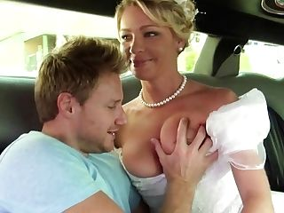 Bride In Milky Beautiful Sundress Gets Fucked