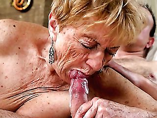 Utterly Puckered Old Whore Malya Gets Her Greedy Matures Cunt Fucked