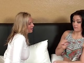 Amazing Pornographic Stars Kimber Wood And Jodi West In Incredible...