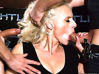 Svelte Torrid Blondie Brittany Bardott Has Found A Fine Chance To...