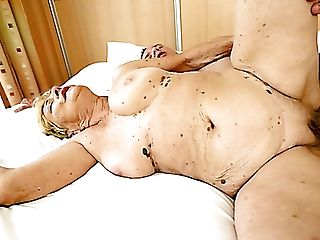 Dirty Matures Blonde Bi-atch With Saggy Tits Gets Slit Both Ate And...