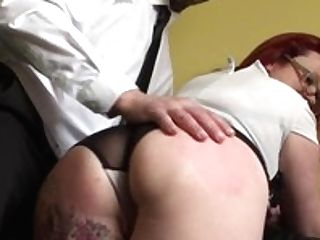 Matures Brit Sub Predominated Over And Ravaged